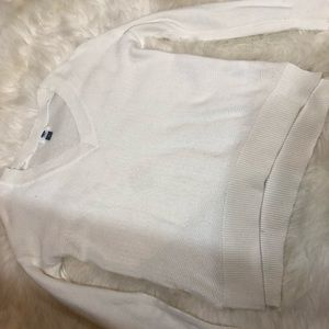 OLD NAVY small white sweater